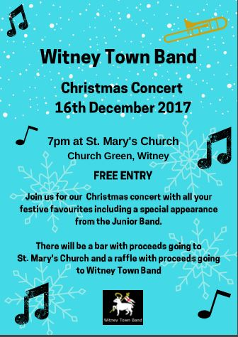 Witney Town Band Christmas Concert