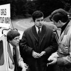 Oxford Mail: Rodney Bewes (centre) in The Likely Lads