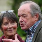 Oxford Mail: James Bolam with his wife actress Susan Jameson (Gareth Fuller/PA)