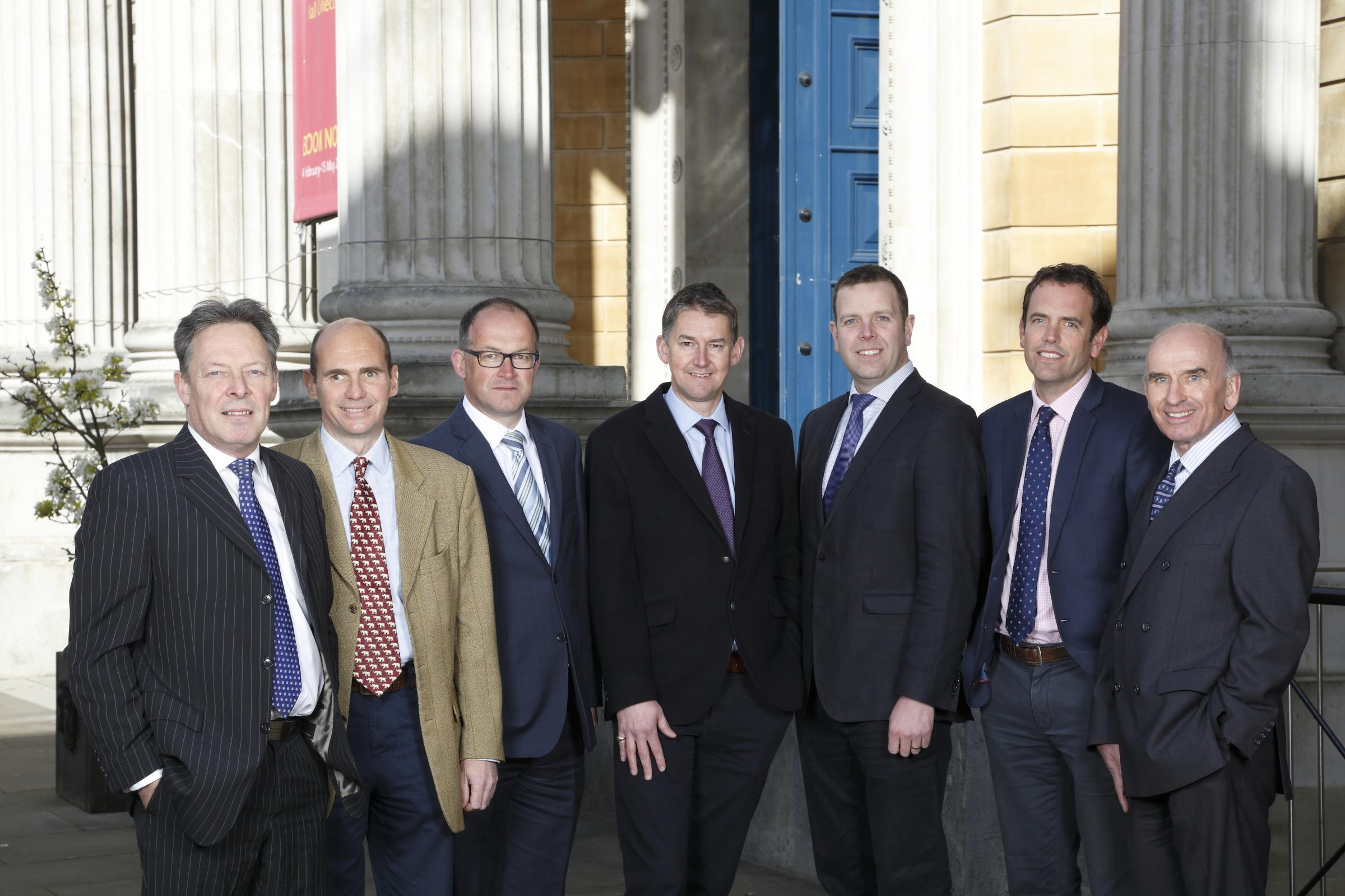 The team at commercial property specialists VSL & Partners. Picture supplied by VSL & Partners