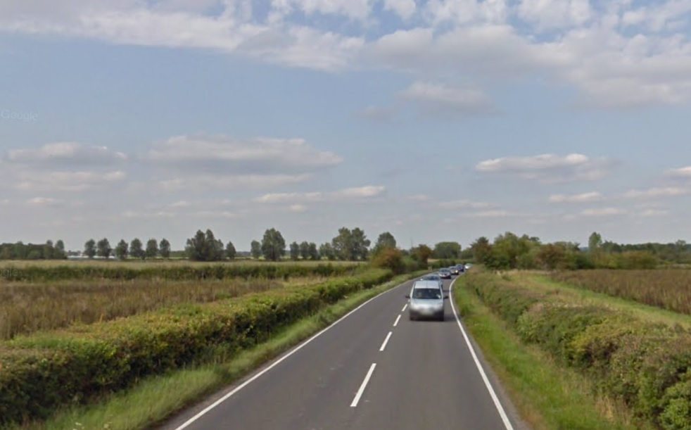 The A338 between Garford and East Hanney. Pic: Google Street View