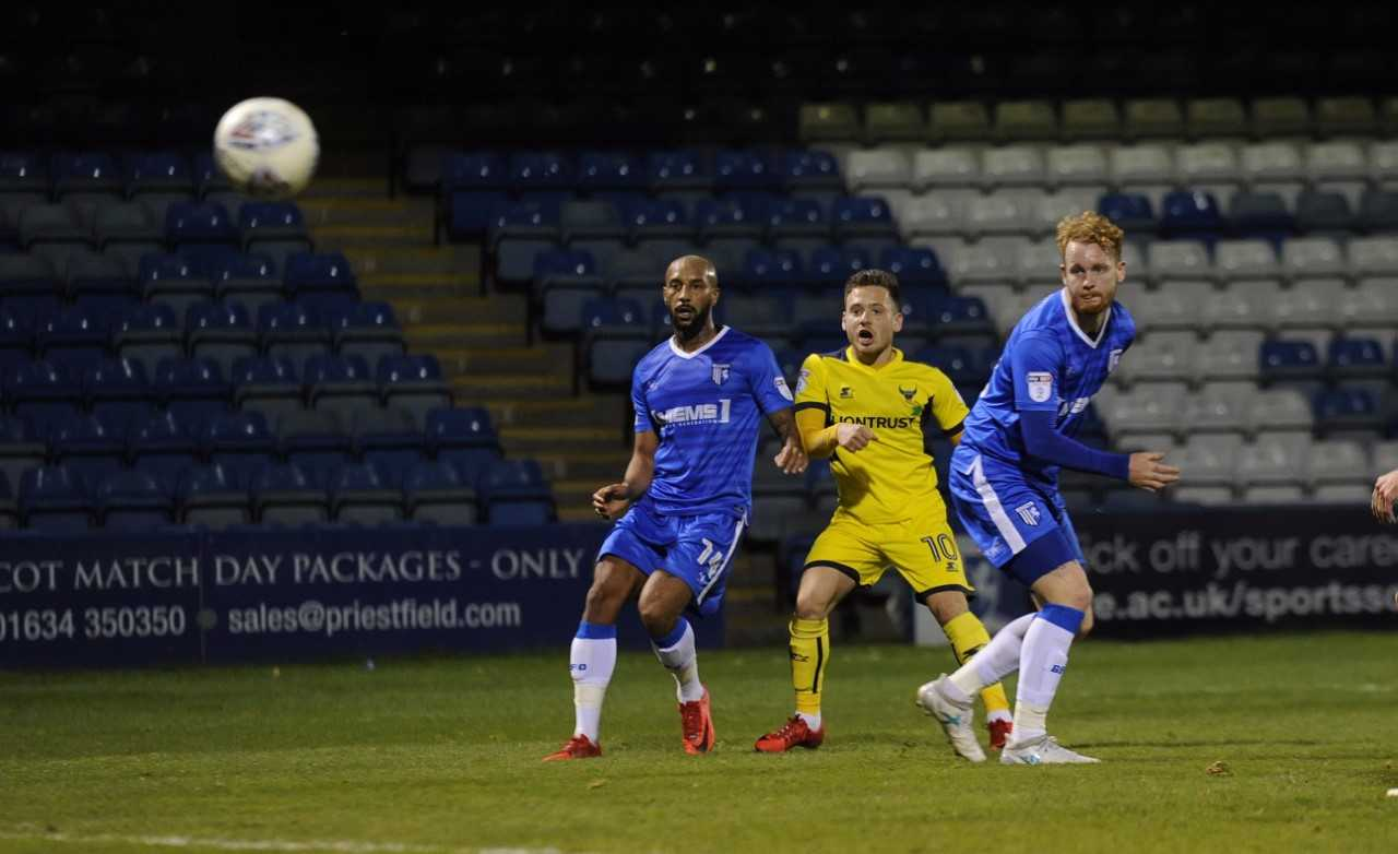 Jack Payne curls in his seventh goal of the season in the first half  Picture: David Fleming
