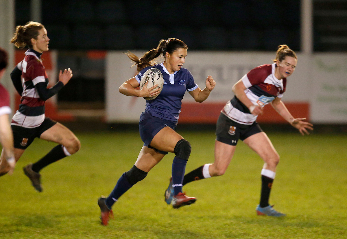 EXPERIENCE: Oxford University full back Sophie Trott will play in a third Varsity Match Picture: Matthew Impey, Wired Photos