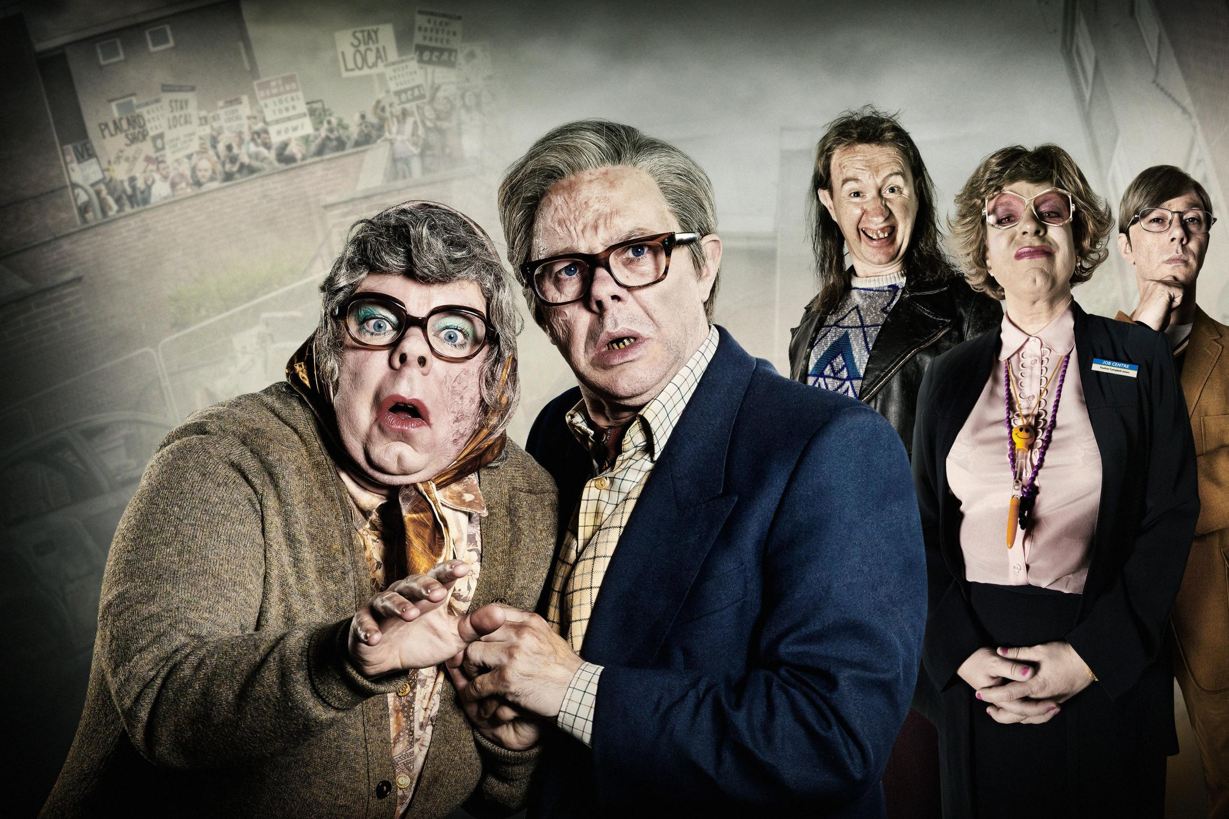The League Of Gentlemen (BBC/Ben Blackall)