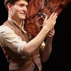 Oxford Mail: Thomas Dennis who plays Albert with his beloved horse Joey in War Horse