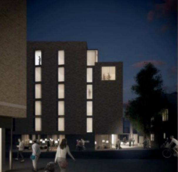 How the hotel could look from the Westgate Centre