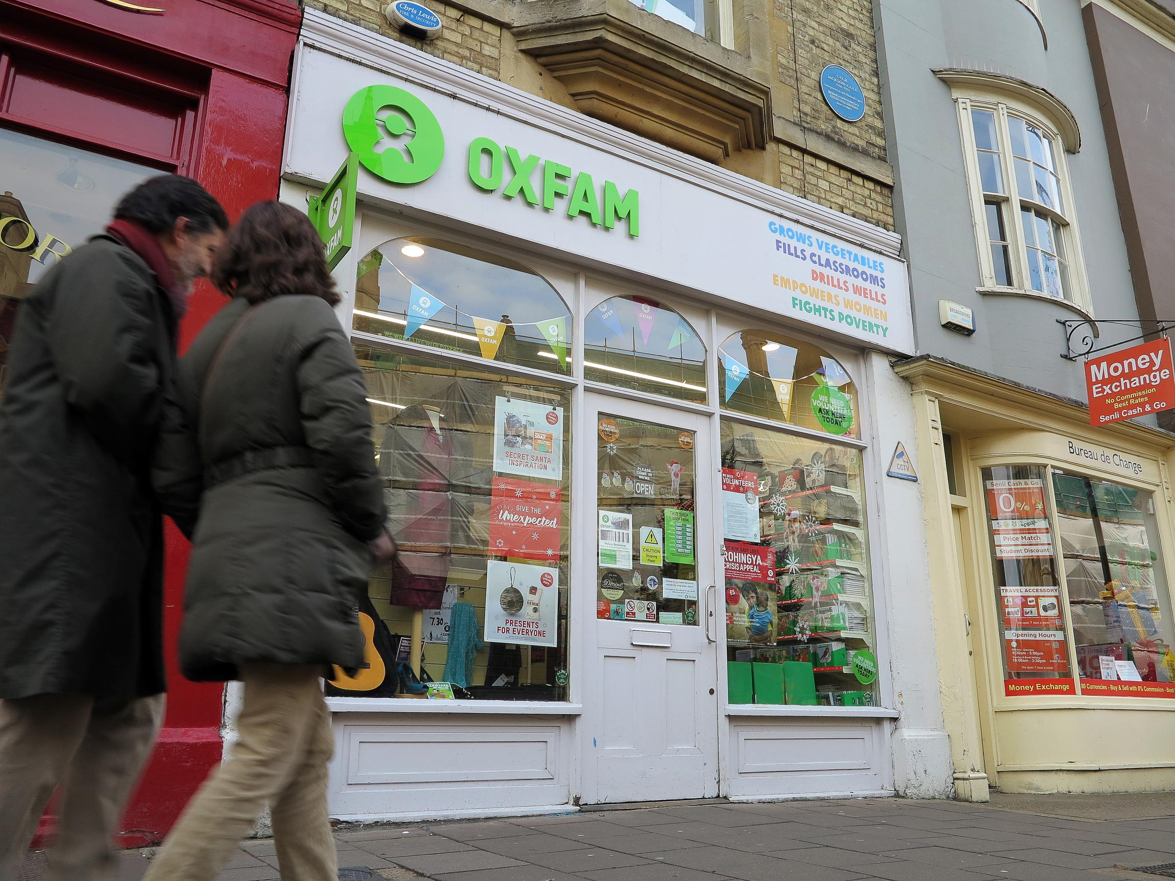 Oxfam's Broad Street shop