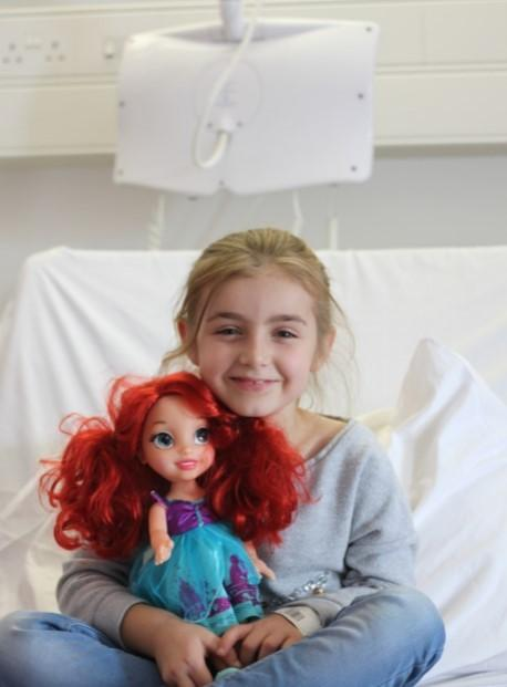 Oxford Mail: Sophie Fraemohs who was treated at Oxford Children's Hospital after suffering bowel issues for five years