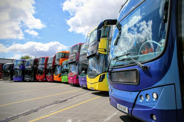 Oxford Mail: The Oxford Bus Company fleet