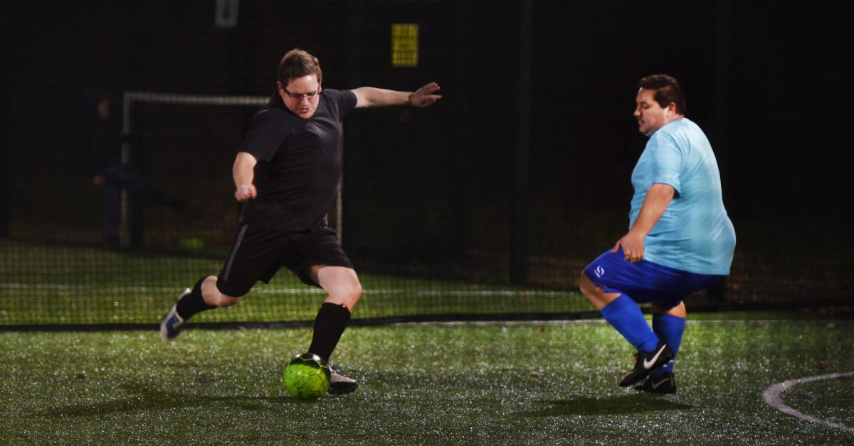 Image result for fat football team