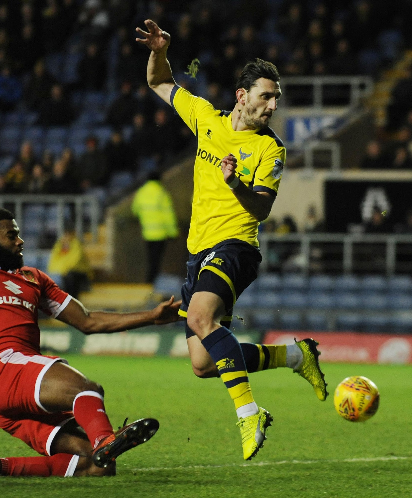 TIME TO SHINE: Agon Mehmeti is hoping his frustrating start at Oxford United is behind him     Picture: David Fleming