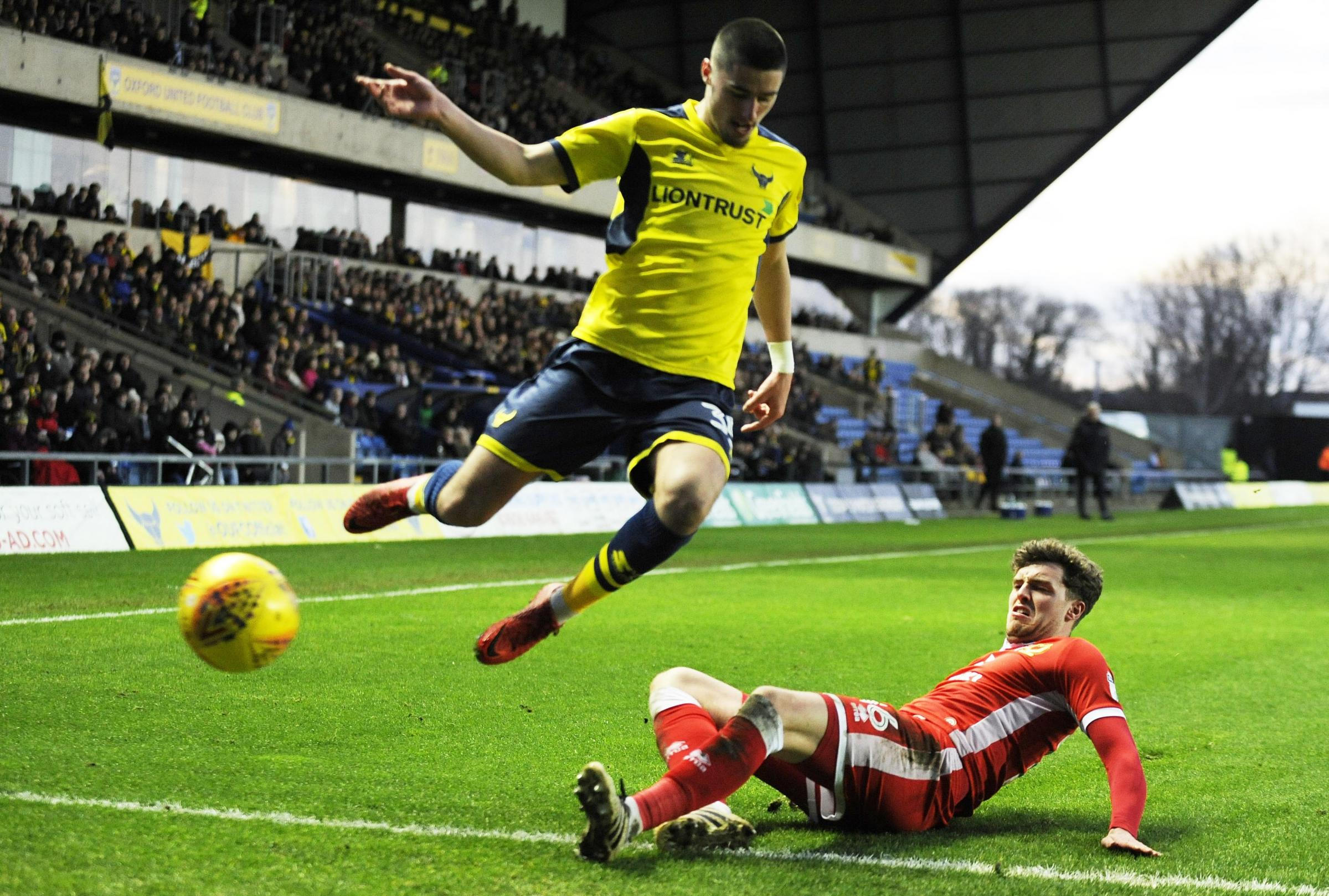 FLYING HIGH: Canice Carroll is set to start for the sixth U's game in a row Picture: David Fleming