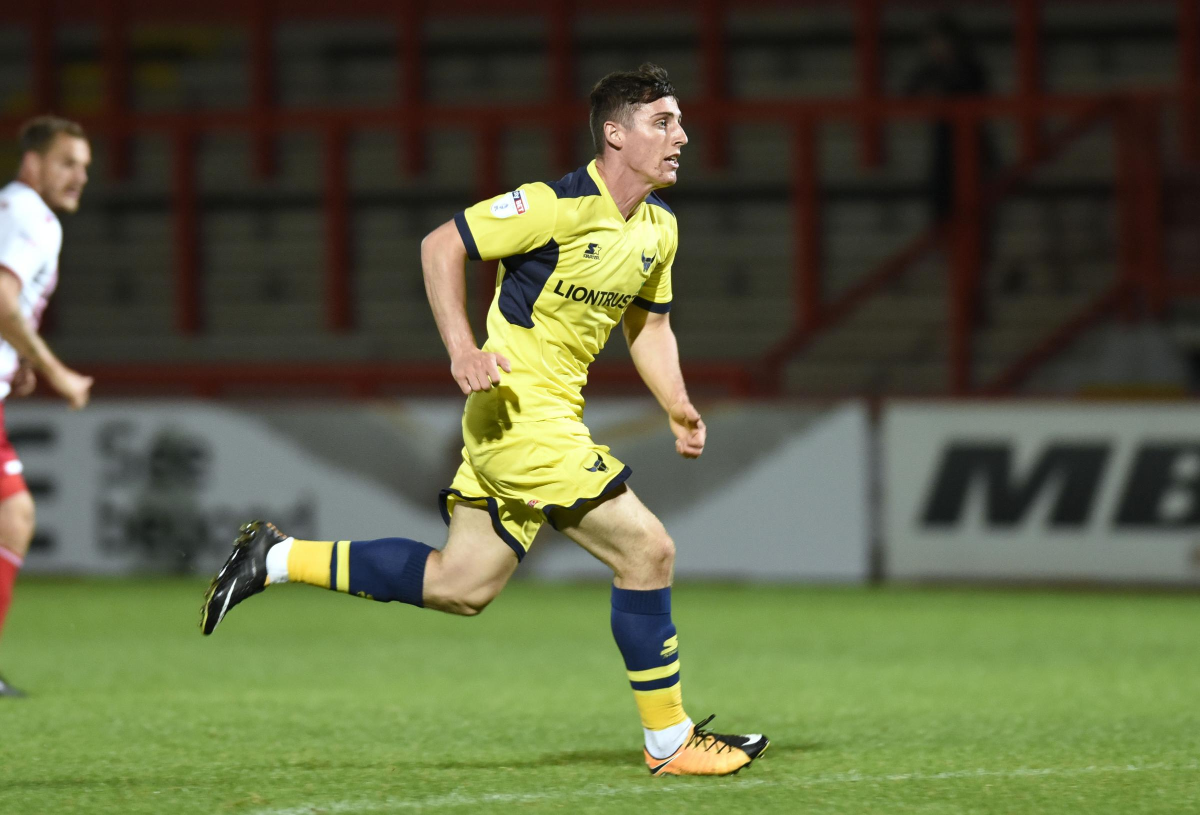 James Roberts has made three substitute appearances for Oxford United this season  Picture: David Fleming