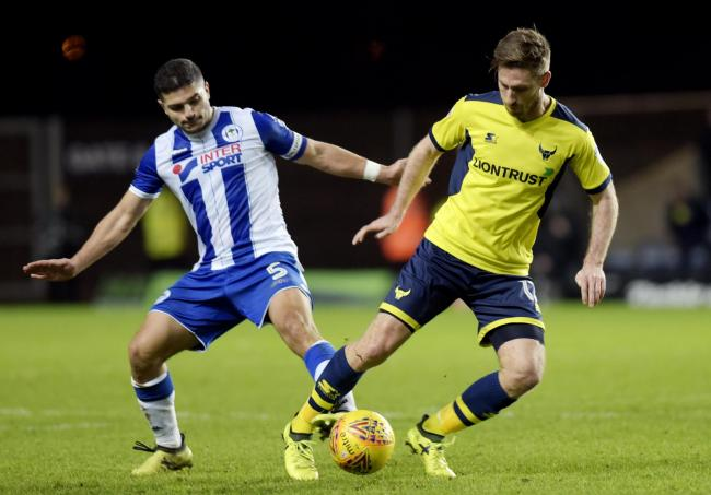 Oxford United last faced Wigan Athletic in the 2017/18 season   Picture: David Fleming