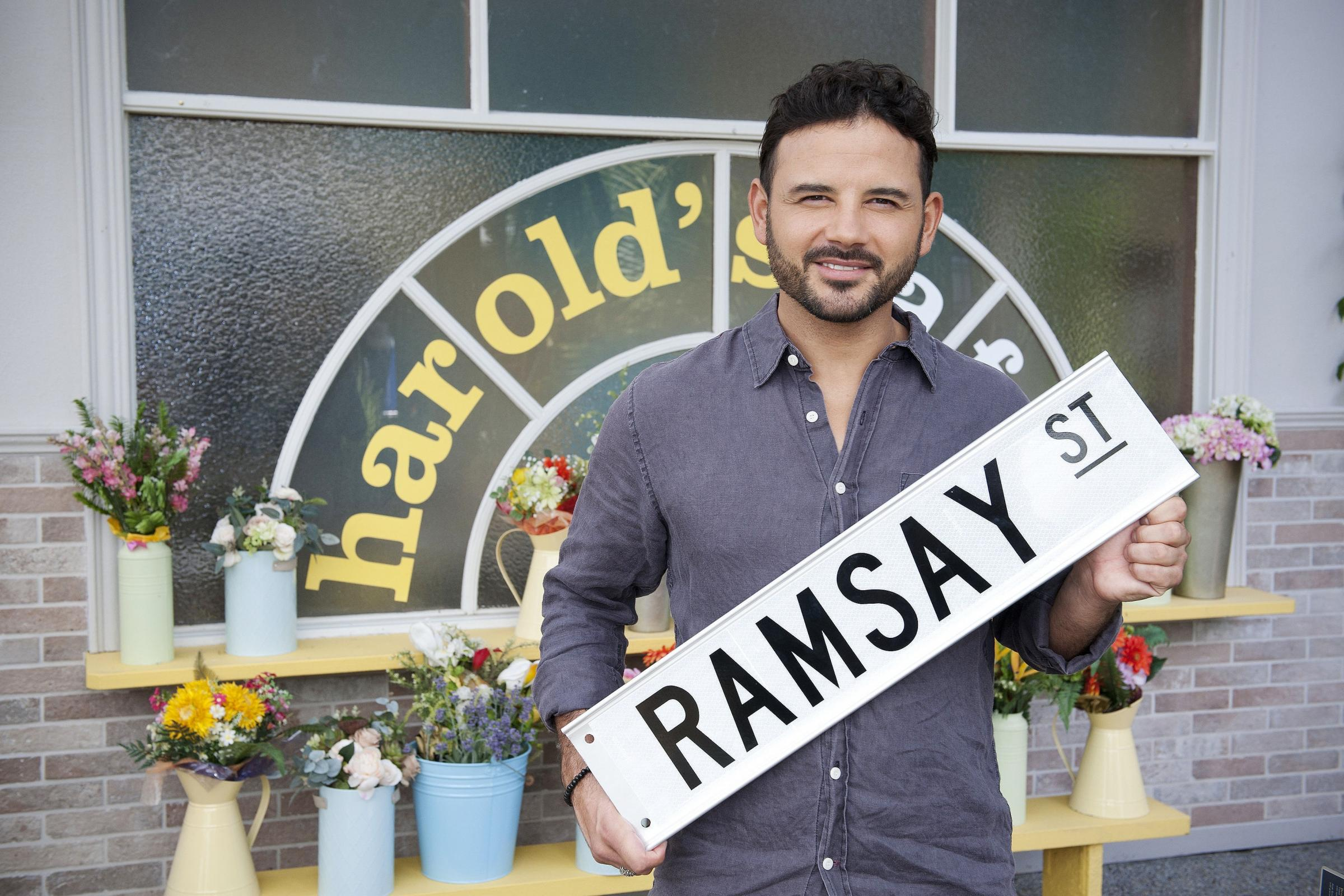 Ryan Thomas: My daughter has acting in her blood (Channel 5/Neighbours)