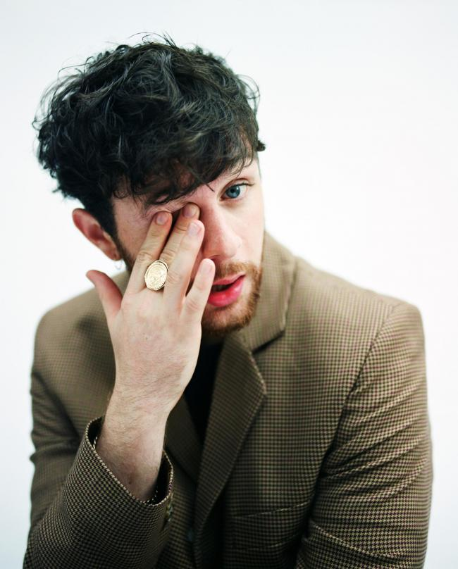 Honest: Tom Grennan's set was stripped-back and heartfelt