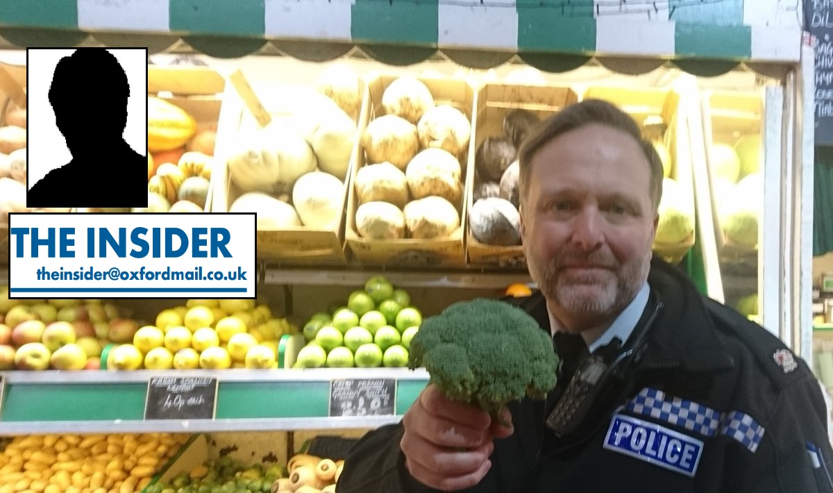 COLUMN: The Insider - Police swap truncheons for vegetables & MP ignored by Boris