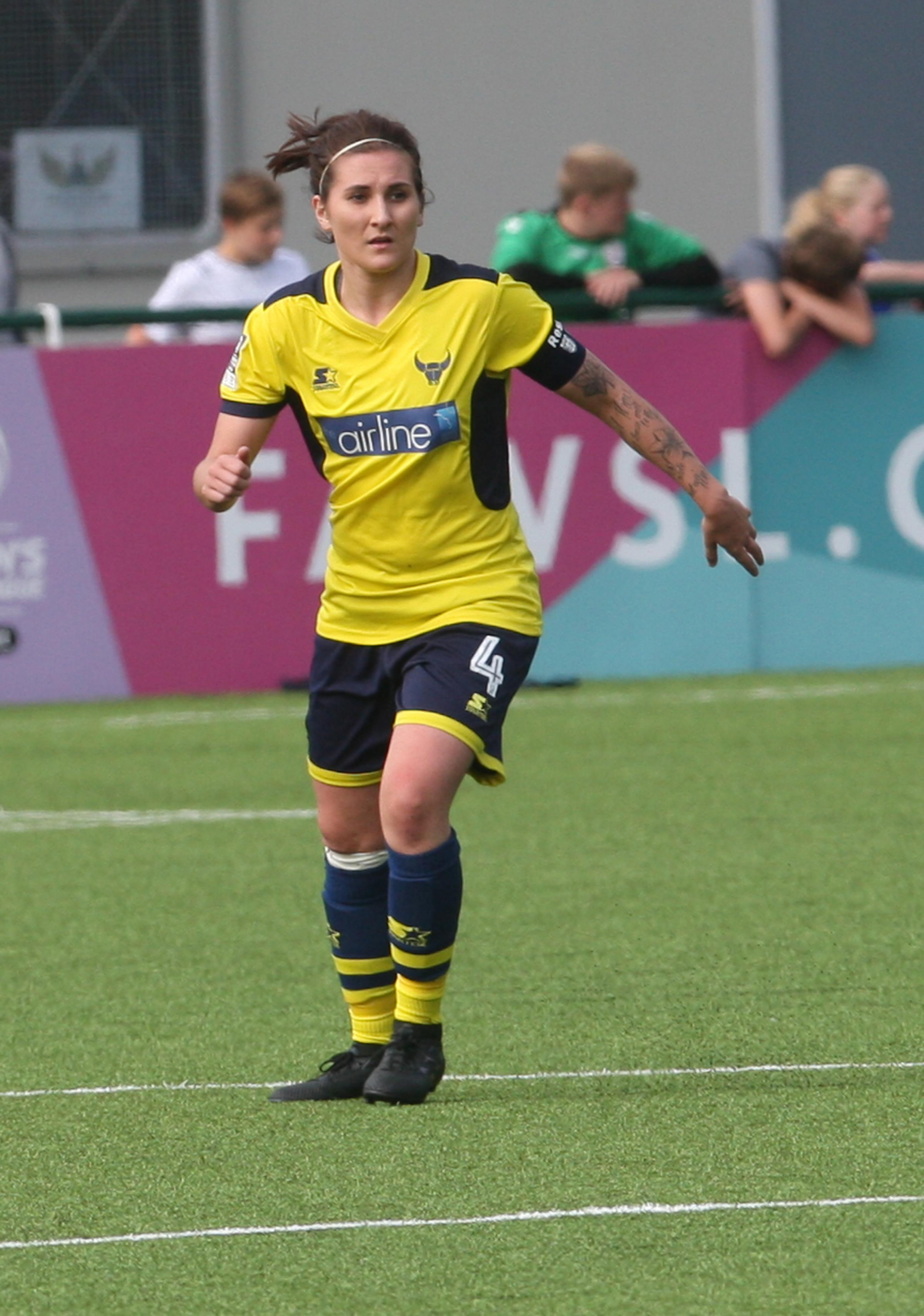 Lauren Haynes netted Oxford United's second goal