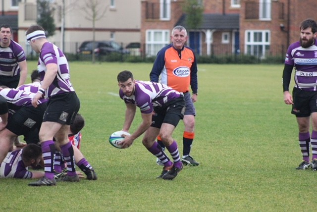 Jack Taylor passes the ball during Wheatley's defeat at Didcot Picture: Simon Chadbone