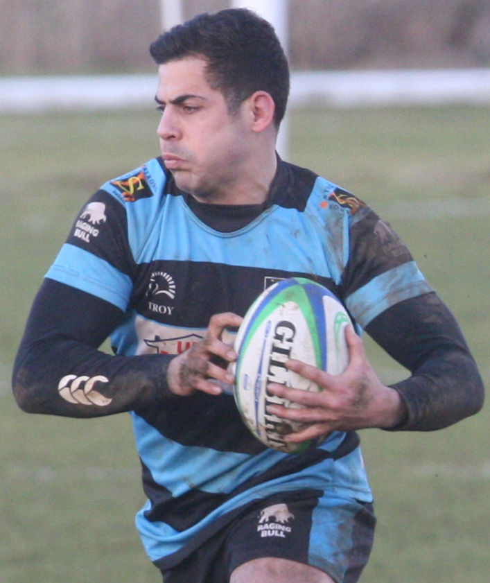 GOOD DAY: Matt Clarke scored 17 points as Witney beat Salisbury in South West 1 East