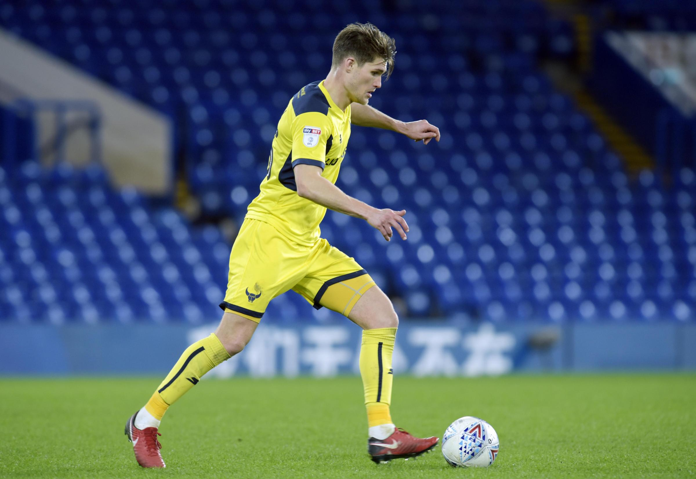 Charlie Raglan's only appearance this season came in Oxford United's defeat at Chelsea Under 21s last week  Picture: David Fleming