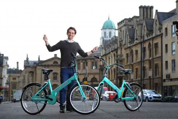 Oxford Mail: Pony Bikes co-founder Paul Murray prepares to launch in Oxford in August