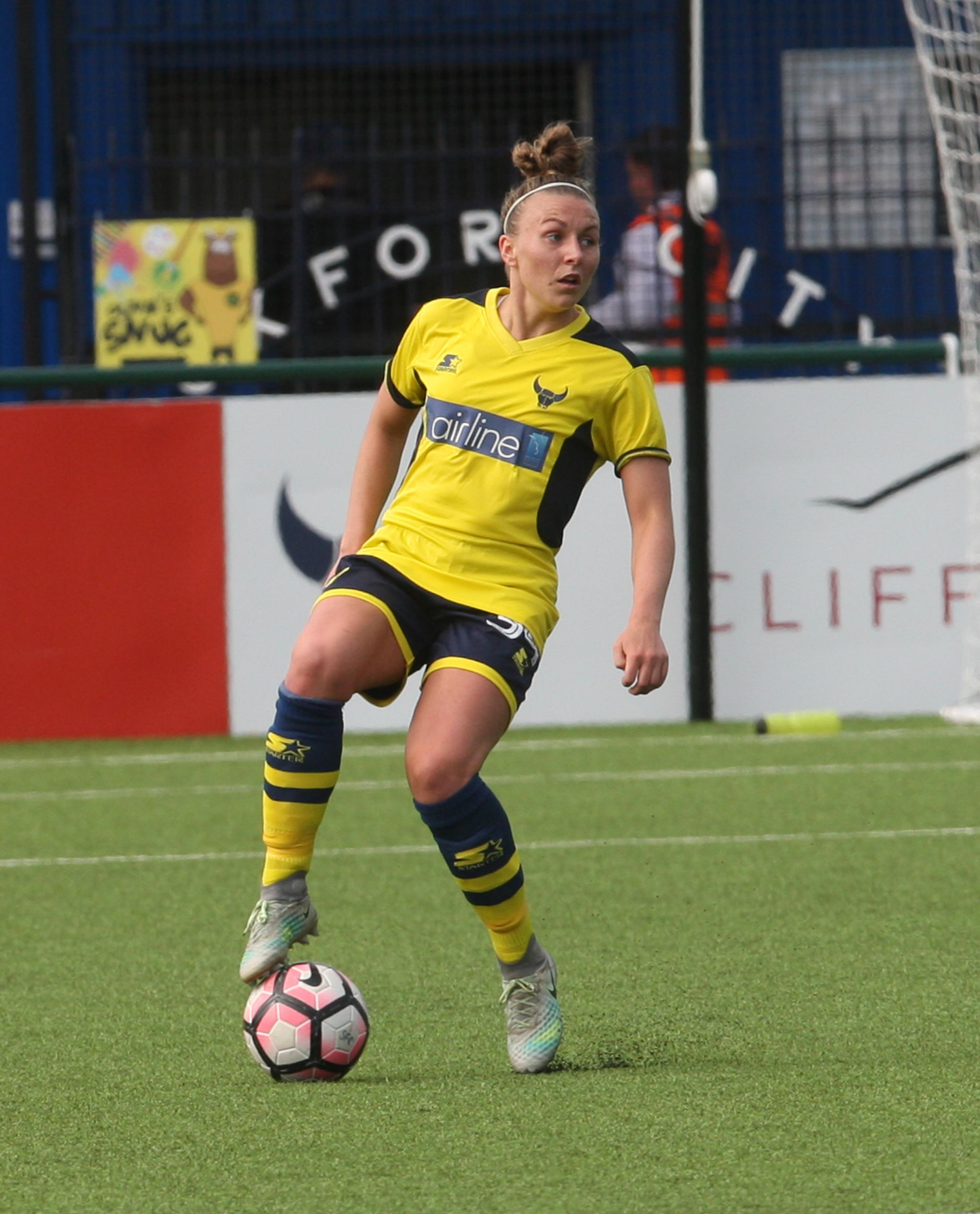 Hannah Short twice hit the woodwork for Oxford United