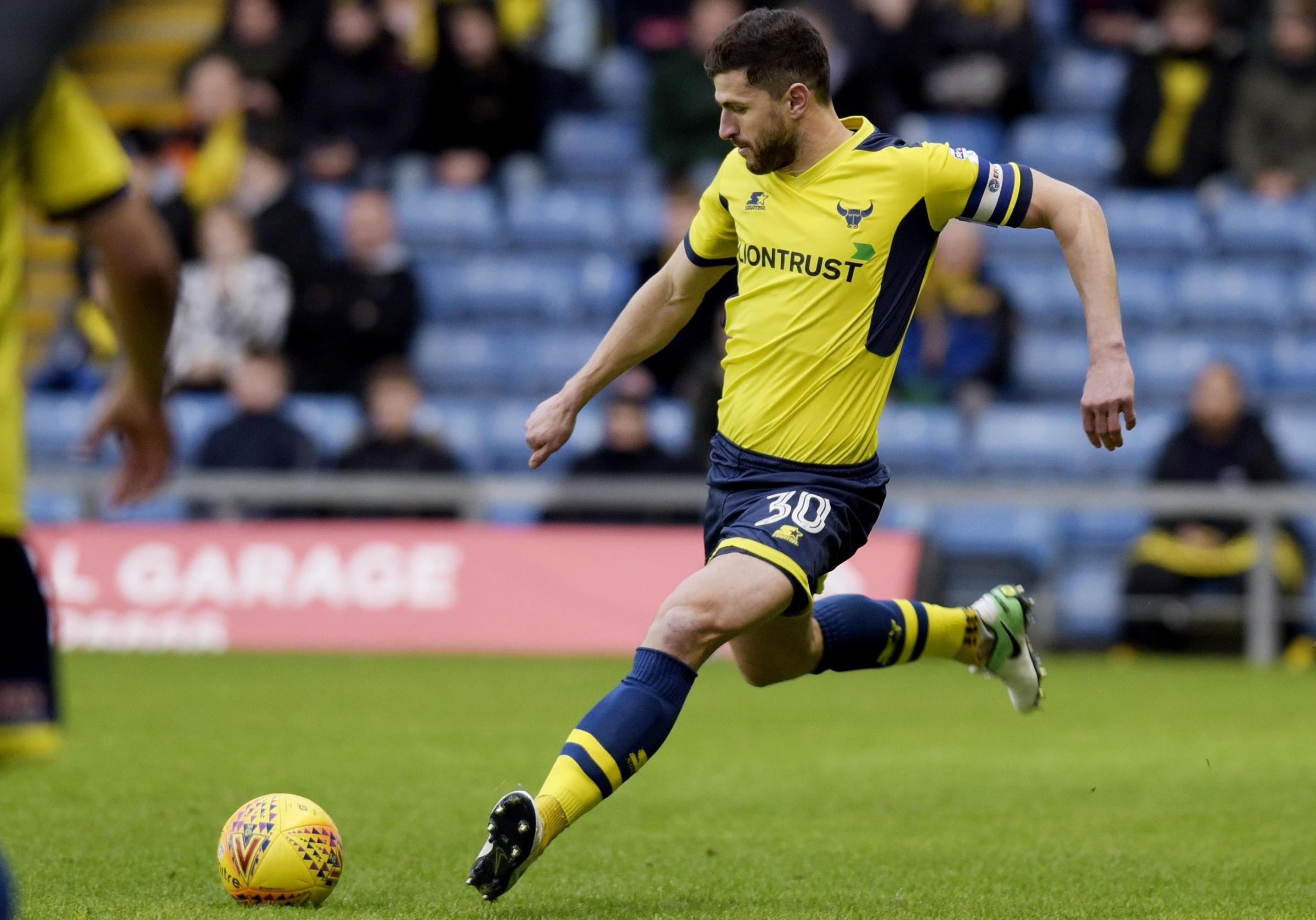 DETERMINED: John Mousinho says the managerial situation at Oxford United can work in the players' favourPicture: David Fleming