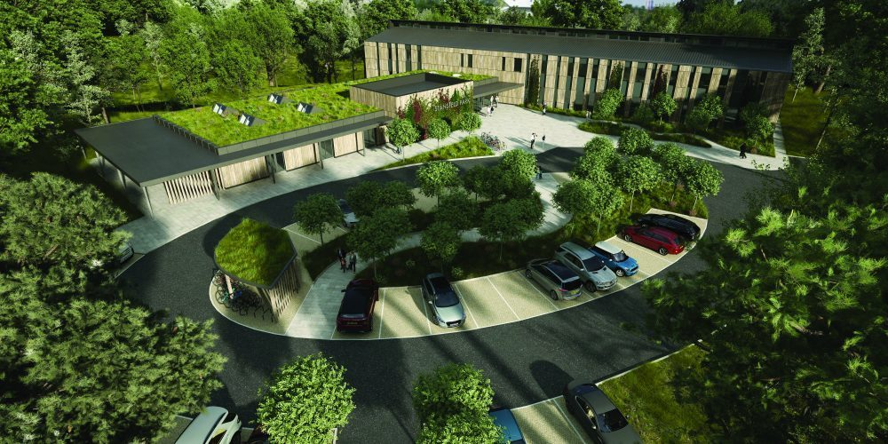 The new Stansfeld Park - artist impression