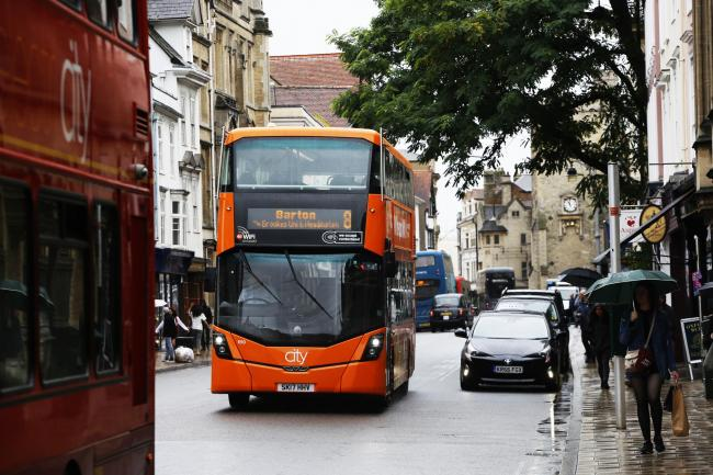 Could this bus, seen on High Street in July, be one replaced with money from the new fund?
