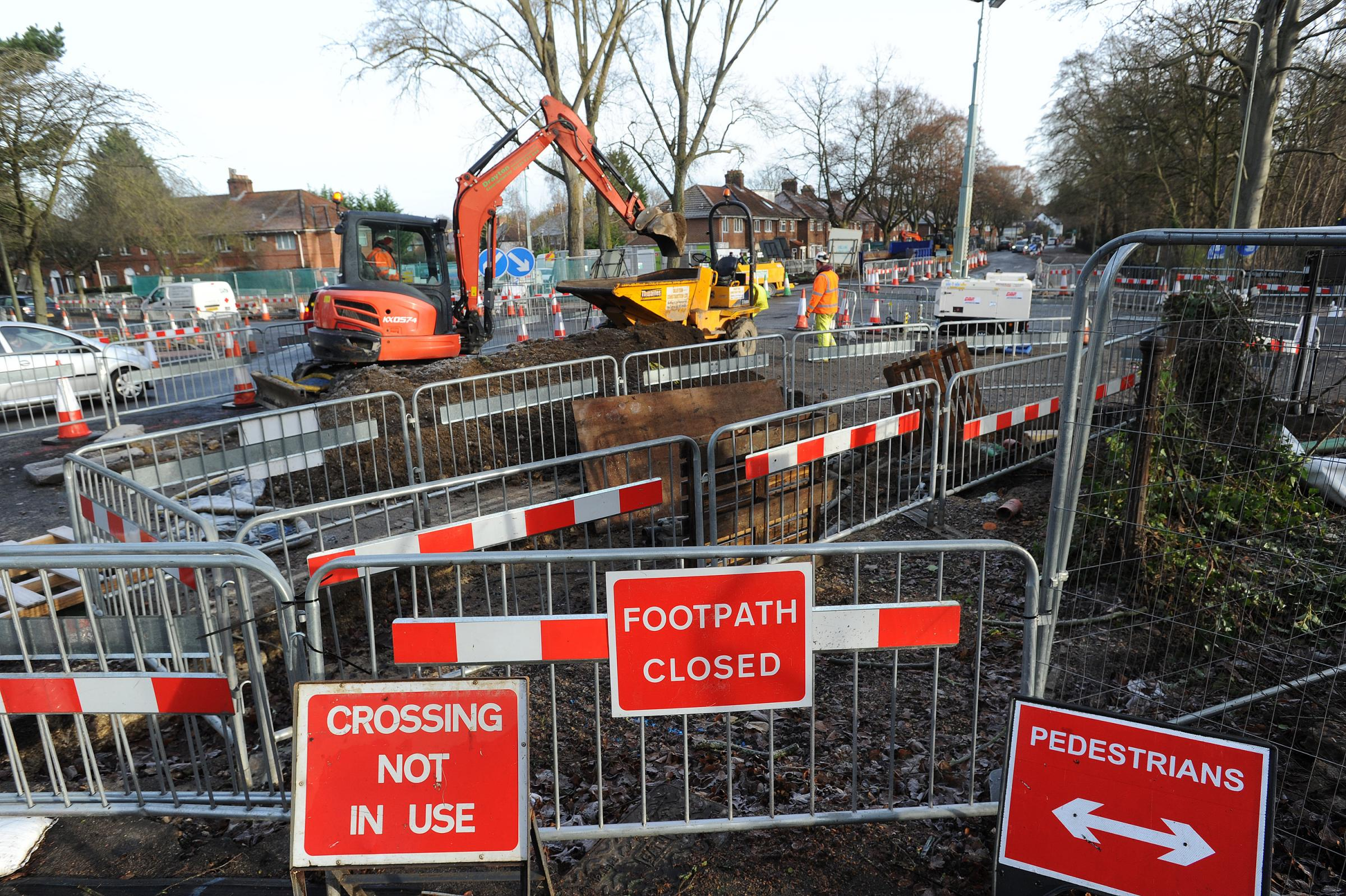 The four roads closed for next phase of Access to Headington