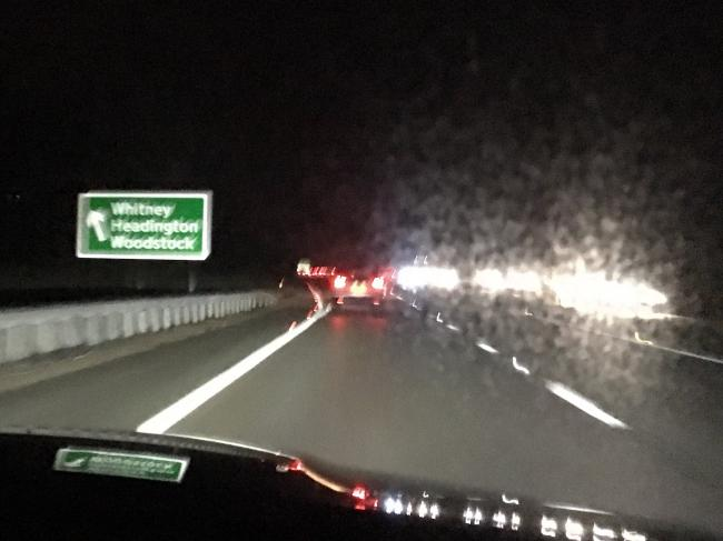 Highways England blame 'Whitney' sign mistake on manufacturer