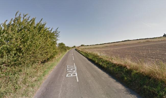 The B4507 near Ashbury. Picture: Google Maps