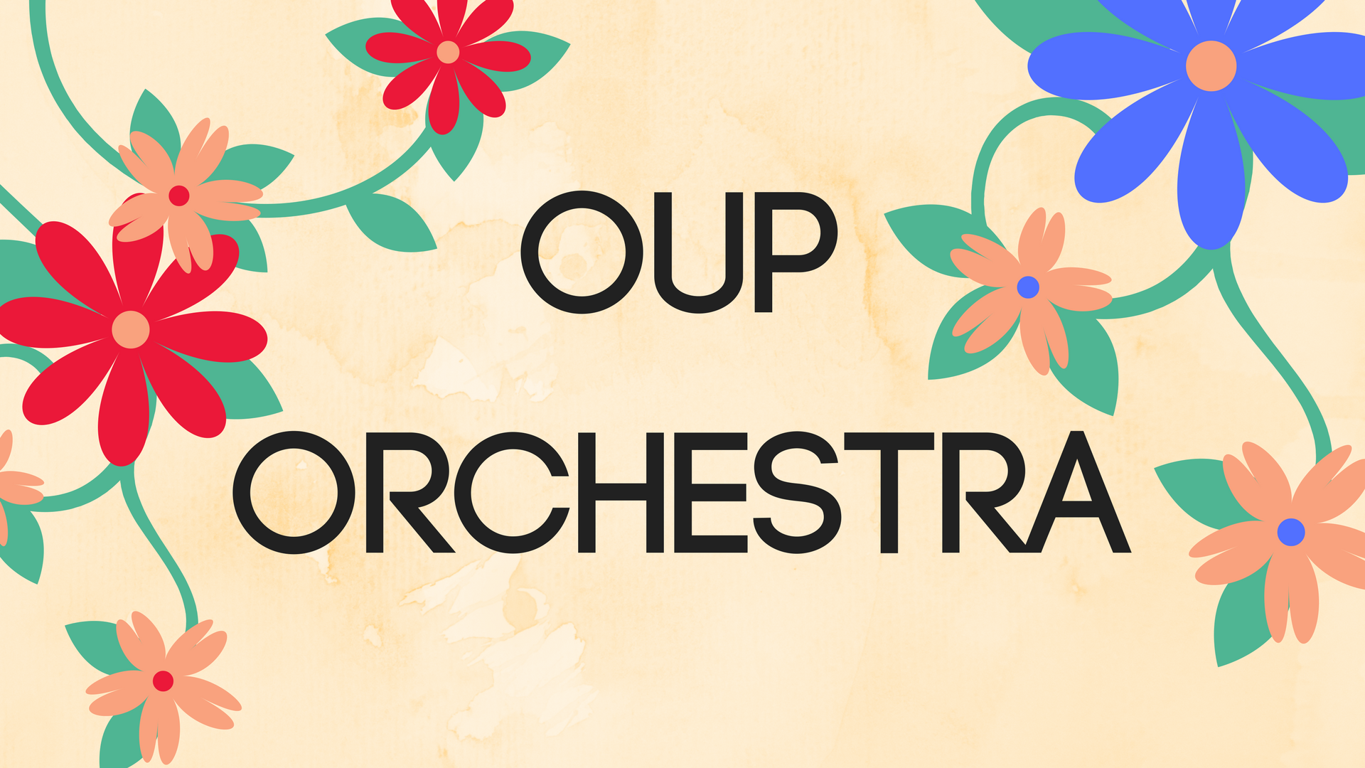 OUP Orchestra Spring Concert