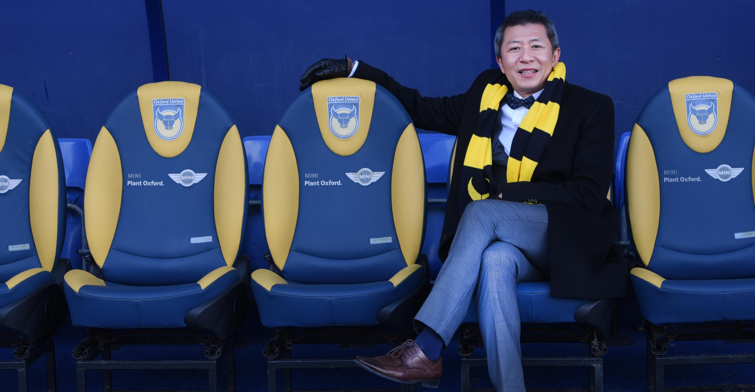WHOSE SEAT WILL IT BE? Sumrith Thanakarnjanasuth is hoping to appoint a new Oxford United manager in the coming days  Picture: Richard Cave