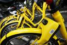 Ofo bikes arrive in Oxford - reporter Callum Keown takes one for a test ride..21.8.2017.Picture by Ed Nix.