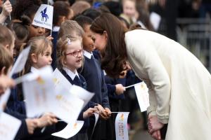 Duchess of Cambridge drops in for a chat at Oxford school - see the pictures here