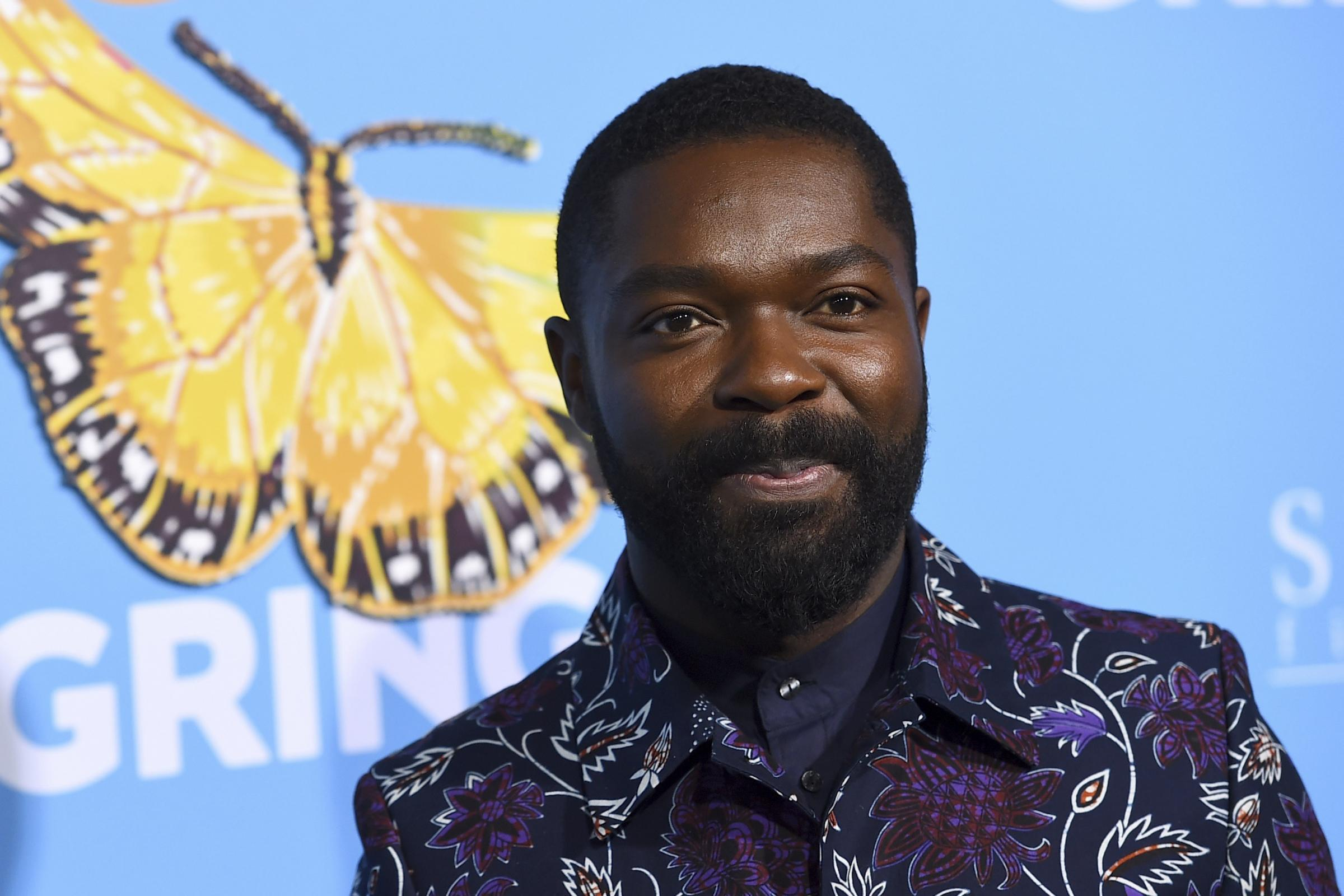 David Oyelowo at the Los Angeles premiere of Gringo (Jordan Strauss/Invision/AP)