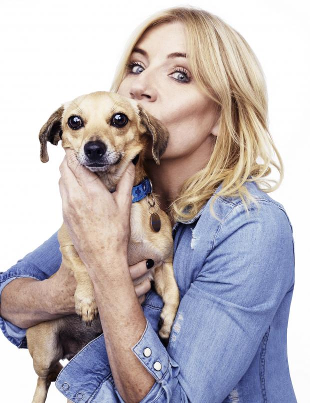 Oxford Mail: Michelle Collins  and Stitch for Blue Cross pet charity by Rankin