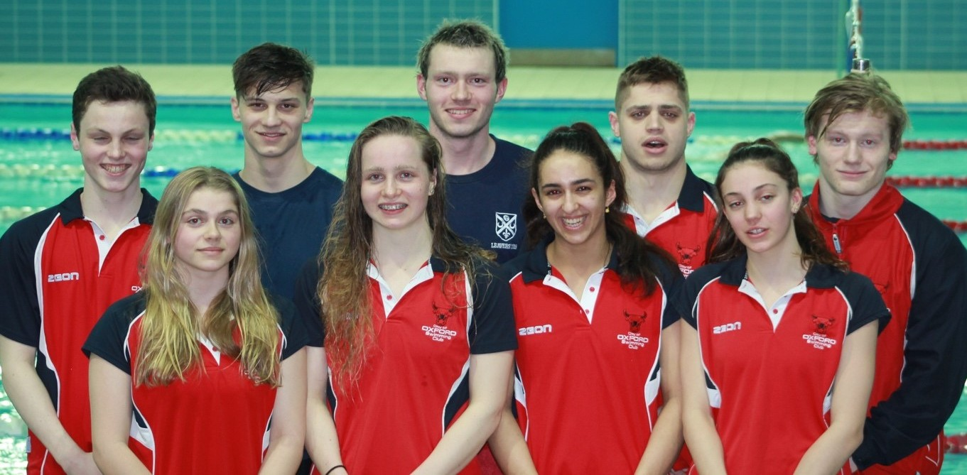 TOP TEN: City of Oxford's competitors in Edinburgh. Back (from left) Nick Skelton, Callum Smart, Toby Mackay-Champion, David Murphy, Connor Bryan. Front: Emily Ford, Ellie Millington, Yasmin Tajalli, Mimi Morley-Iszatt