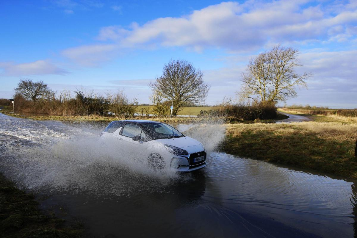 Flooding in Oxfordshire in January