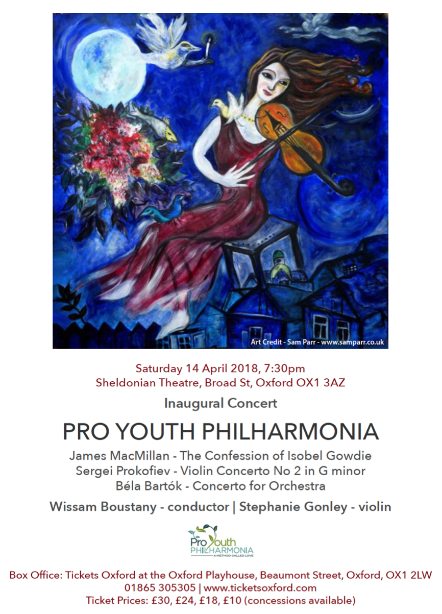 Pro Youth Philharmonia - Inaugural Concert