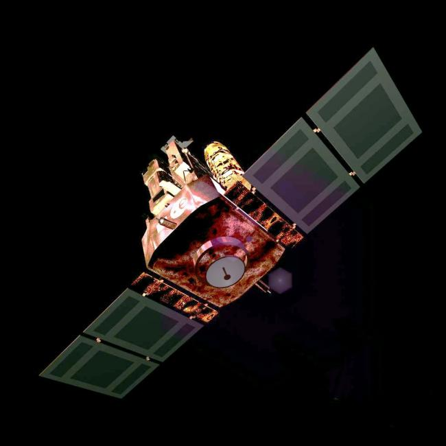 File photo of a NASA satellite
