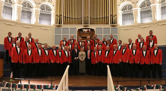 Songs of the Valleys with the Oxford Welsh Male Voice Choir