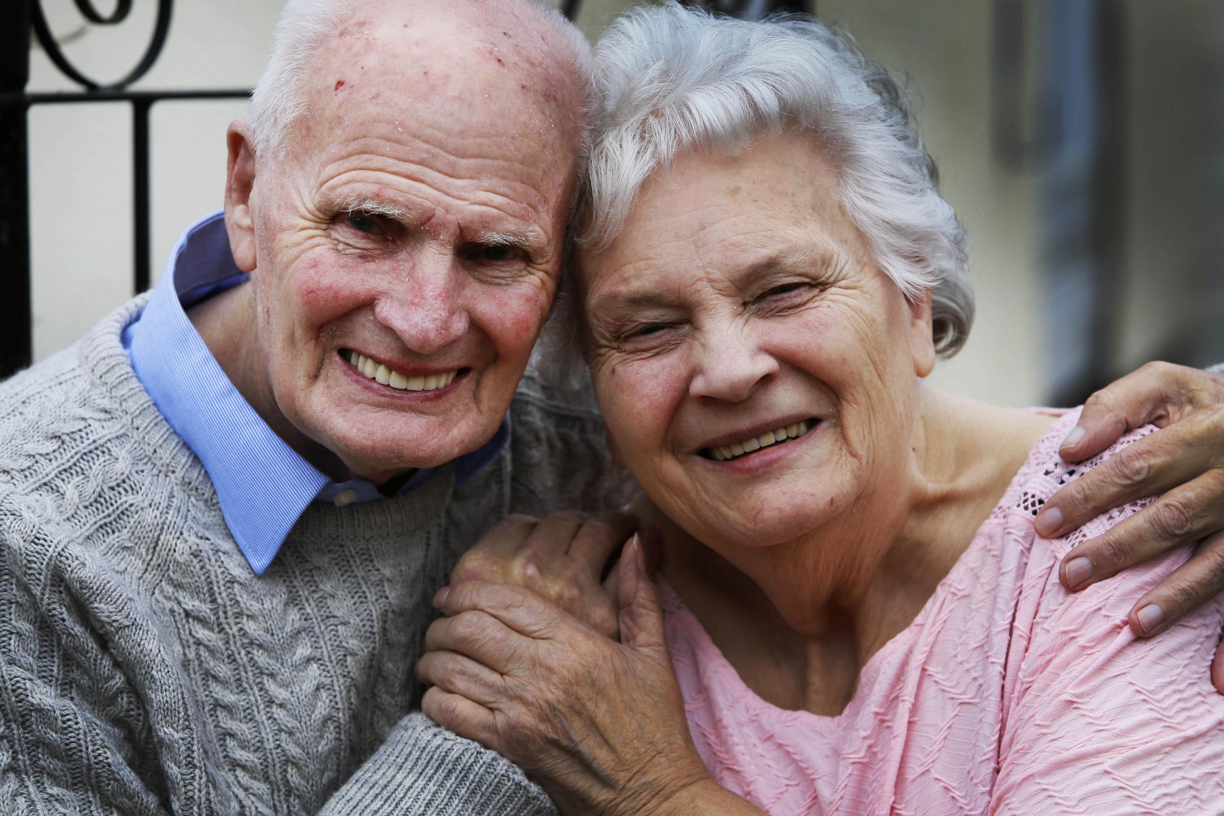 Special day for diamond anniversary couple who have married