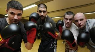 Kids Boxing Club Packs A Punch Oxford Mail