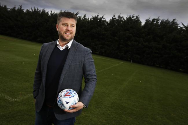 Karl Robinson after taking over as Oxford United's new manager Picture: Ed Nix
