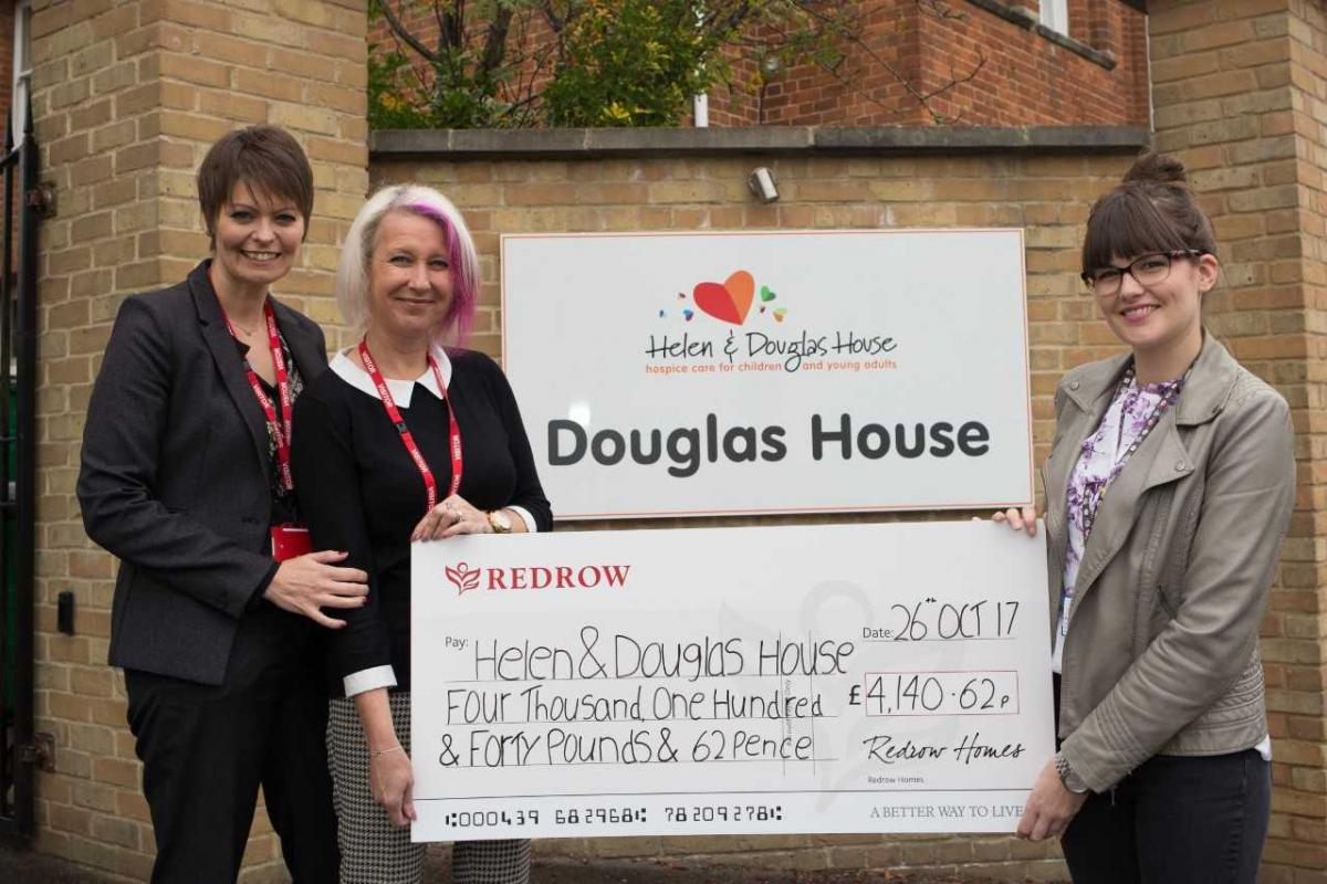 Tremendous\' Helen & Douglas House hospice gets £4,140 boost from ...