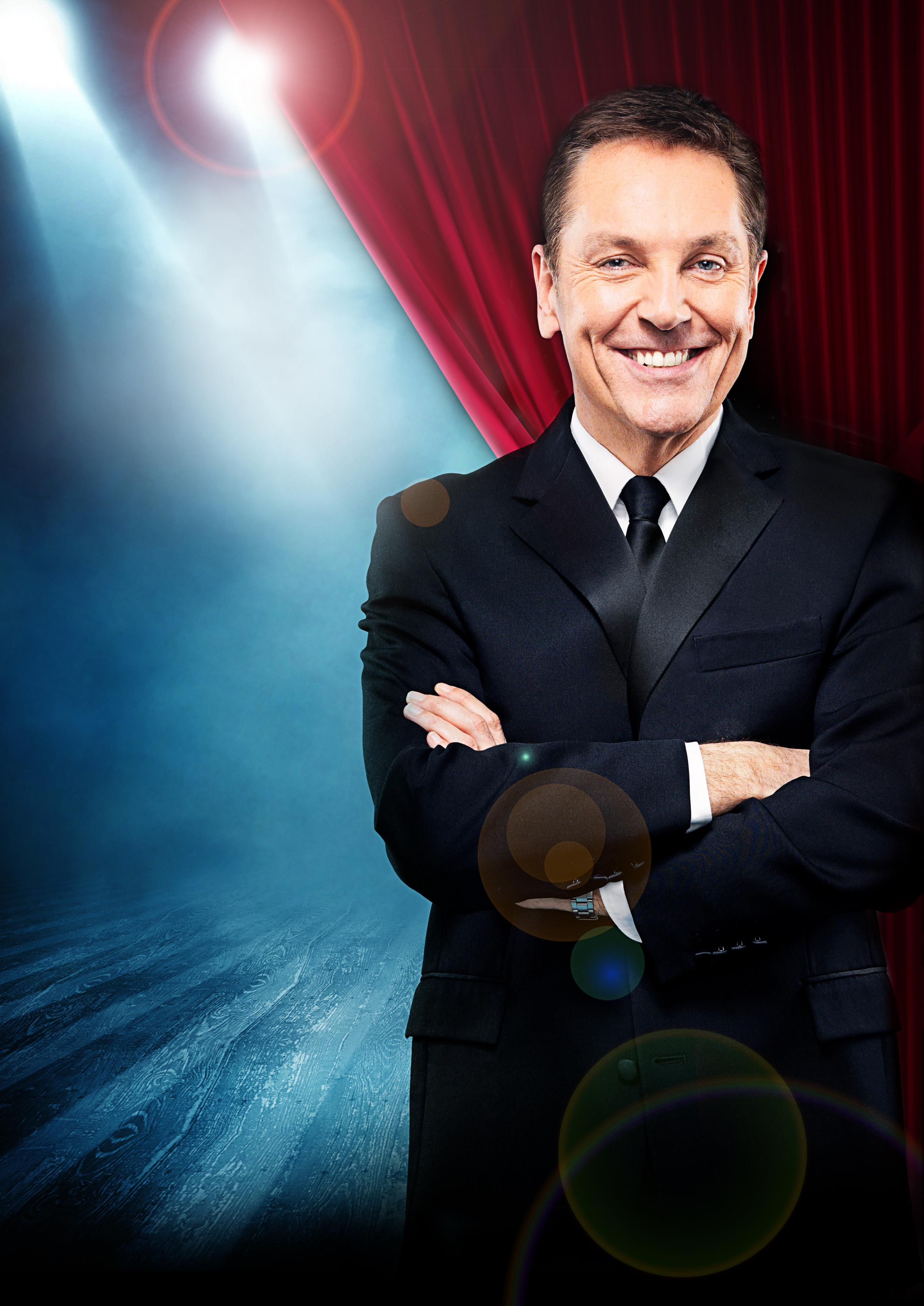 Brian Conley is back on the road with a new show following his Strictly success