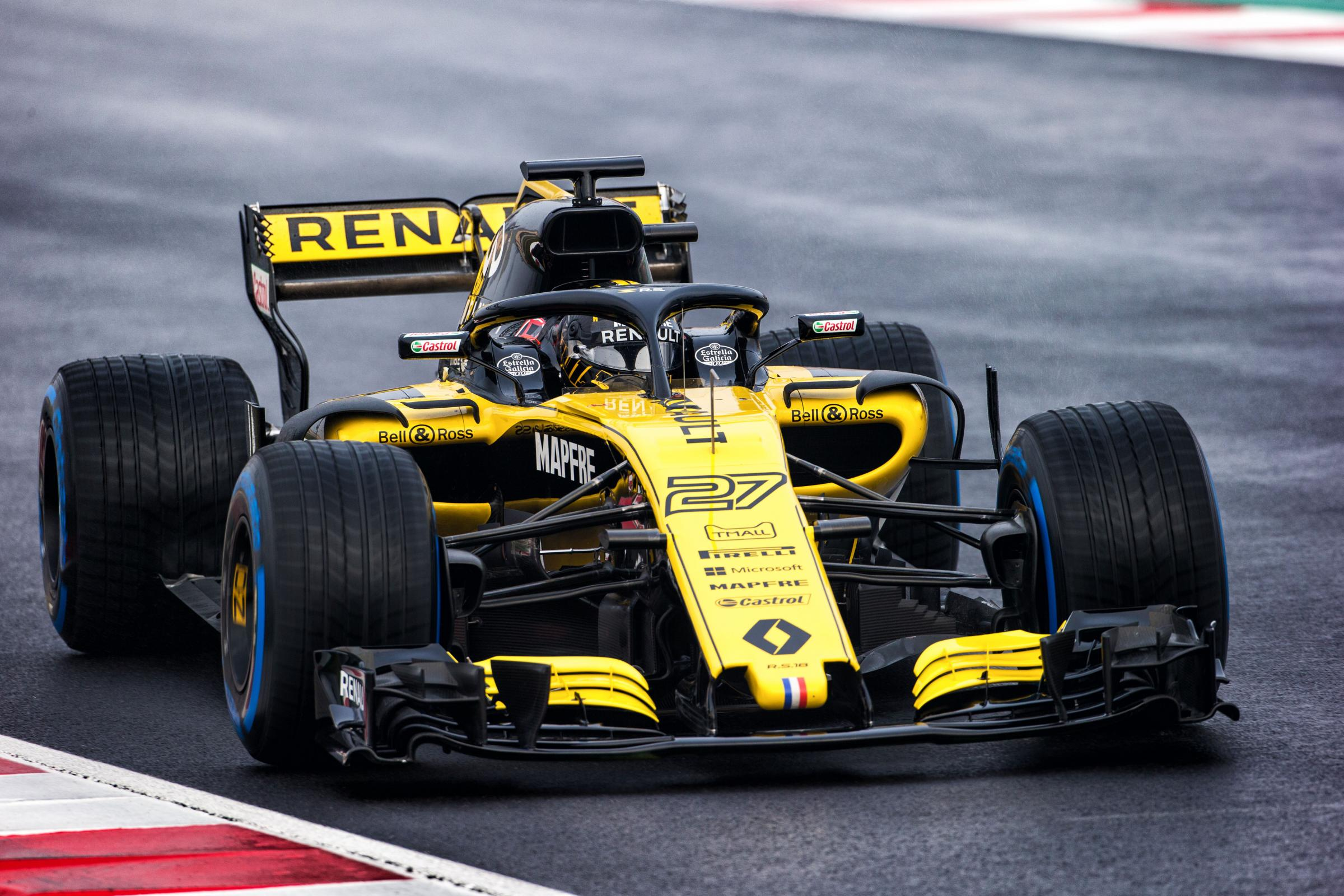 CHALLENGE: Nico Hulkenberg is looking to continue Renault's good start to the season in Montreal